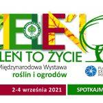 logo targów Zieleń to Życie